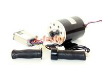 36V48V 1000 Вт UNITEMOTOR коллекторный мотор MY1020 с контроллером и светодиодный дроссель электрический мотоцикл