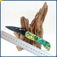 Fabrika Doğrudan 8 Stilleri Ghillie Cep Katlanır Bıçak Meyve Bıçağı ABS Kolu EDC Mini Survival Fold Bıçaklar