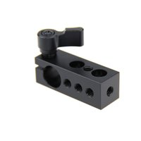 CAMVATE Konu 15mm Çubuk Kelepçe Tutucu fr SLR Kamera Desteği Rig Monitör LED Kolu Kavrama