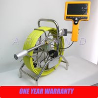 20m cable waterproof duct sewer pipe inspection camera. Black Bedroom Furniture Sets. Home Design Ideas