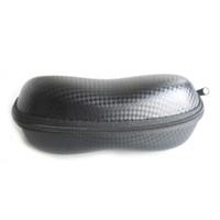 도매 10pcs / lot 패션 지퍼 선글라스 케이스, 가장 저렴한 블랙 안경 박스