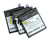 3 قطعة / الوحدة 2100 مللي أمبير B0PKX100 استبدال البطارية لهتك الرغبة 626 D626T D262W D262D بطاريات batteria batterij