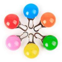 LED pet pet аксессуары кулон светоизлучающие теги круглый пятно Оптовая Флэш-собака Теги