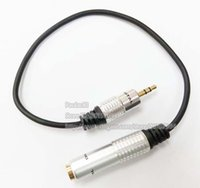 """Haute Qualité 3.5mm Stéréo mâle Jack à 1/4 """"6.35mm Femelle Plug Casque Adaptateur Convertisseur Câble 30 CM / Livraison Gratuite / 2 PCS"""