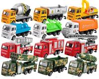 Mini alliage Construction Engineering Véhicule de voiture Décharge de voiture Modèle Classic Toy Mini cadeau pour garçon Livraison gratuite
