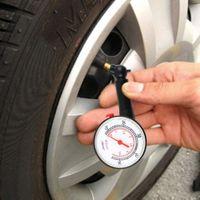 Araba Motor Motor Araba Teşhis Araçları Lastik Hava Basıncı Ölçer Ölçer Yüksek Hassas Araç Lastik Basıncı Ölçümü Dial 0.53.5 / 10--50
