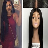 7A Grade Full Lace Human Hair Wigs Straight Lace Front Wig F...