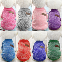 Classic Dog Clothes Warm Puppy Outfit Pet Jacket Coat Winter...