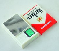 Mini Cigarette Case Style Scale Digital Pocket Scales Cigare...
