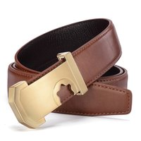 2017 Men' s Casual Belts Top Quality Genuine Leather Fas...