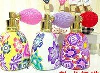 Bouteille de parfum d'argile de polymère de 15ML multi avec l'atomiseur de jet de gaz bouteille de Frangrance de verre essentielle