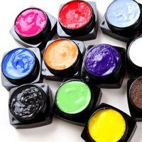 DIY Polonês 3D Gel UV Gel Escultura para unhas Art Tip base Decorações de Beleza Criativa Manicure Gel Unhas Polonês kit
