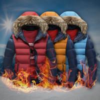 Ücretsiz kargo en kaliteli yeni gelmesi Kış Erkekler 'ın kapüşonlu pamuk aşağı kısa paragraf Kore ceket çıkarılabilir şapka kalın ceket