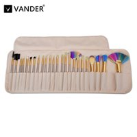 Vanderlife 24Pcs Color Hair Makeup Brushes Set Beauty Cosmet...