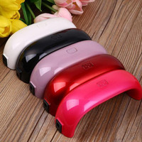 UV Light Lamp Mini Portable Nail Dryer 9W For Gel Varnish Na...