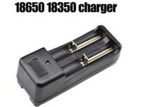 Double chargeur US plug 3.7V 18650 14500 16430 Chargeur de batterie Chargeur universel pour batterie Li-ion rechargeable