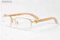 chifre de búfalo venda quente óculos clássicos esportes dos homens de moda óculos óculos de bambu óculos de sol de madeira para homens mulheres óculos Óculos de sol