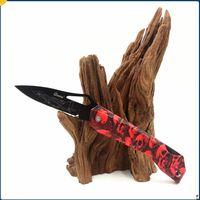 8 stili Ghillie Pocket Pieghetto Blade Fruit Knife Maniglia ABS EDC Mini tasche Coltelli pieghevoli sopravvivenza