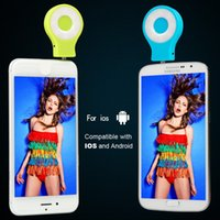 Wholesale LED Selfie Flash Light RK07 for iphone Running iOS...