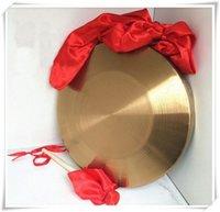 2016 gong basso di 42cm con i gomitoli di martello sisals Strumenti musicali tradizionali cinesi