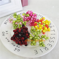 New DIY artificiale Mini Berry Flower Decorazioni di Natale Simulazione artificiale bacche Home Wedding Party decorativi fiori finti