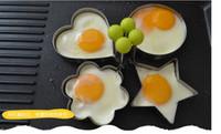 Heißer Verkauf Verdickung Edelstahl Omelett Gerät DIY Lebensmittel Spiegelei Form Modell Liebe Star Eier Form Kuchenform Pancake Breakfas