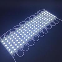Módulo LED 5050 SMD 6 LEDs DC 12 V À Prova D 'Água IP65 LED Sinal Backlight Módulos Módulos de Caixa de Luz de Publicidade 500 pçs / lote