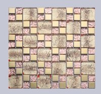 Cam mozaik büyü ayna cam duvar oturma odası içinde özel cam duvar D-916