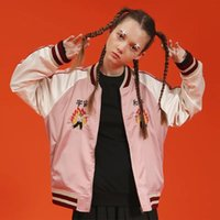 New Women Coat Short Fashion Streetwear Baseball Jacket Cart...