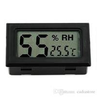 Thermomètre intérieur hygromètre digital LCD mini G00190 OSTH