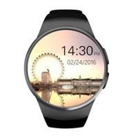 KW18 für intelligente Uhr intelligente 13-Zoll-runde Uhr sim für intelligente Uhrengeschäft besser als kw08 gt88 gt68 gt08 dz09 intelligentes Handgelenk