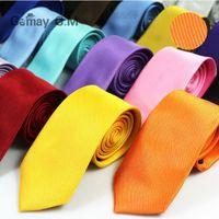 حار شريط الرقبة التعادل 145 * 8 سنتيمتر 30 الألوان المهنية السهم بلون ربطة العنق التعادل للرجال لعيد الأب رجال الأعمال التعادل هدية عيد