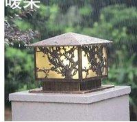 Ontinental Column Headlights Outdoor Post Lights Garden Lights Waterdichte lichten LawnWalledGardenVillasGreenLighting
