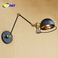 FUMAT Loft Industrial Jielde Wall Lamp LED E27 Vintage Long ...