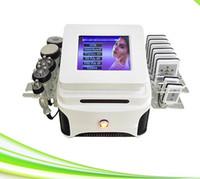 professionnel 6 en 1 machine de cavitation ultrasonique de combustion des graisses par ultrasons amincissant le système de perte de poids au laser