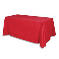 Бесплатная доставка высокое качество 60*102 дюймов прямоугольный атласная скатерть крышка стола для свадьбы банкетный отель украшения Белый