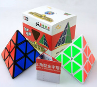 Shengshou Pyramid Shape Magic Cube Ultra- smooth Speed Magic ...