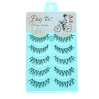 2018 5 Pairs New Women Lady Natural Soft Black Fake Eye Lash...