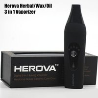2016 New Dry Herbal Vaporizer Herova 3 in 1 Vaporizer 2200ma...