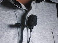 BOYA Lavalier ميكروفون مكثف احادي الاتجاه لكانون ، مسجلات صوت كاميرا فيديو DSLR لآيفون 7 6s بلس ، تسمية لاف BY-M1