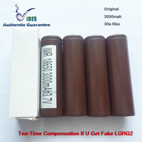 Authentic Guarantee - 100% LGHG2 3000mah 35a Max 18650 Batte...