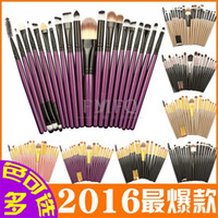 20Pcs makeup brushes 20pcs Cosmetic Makeup Brushes Set Powde...