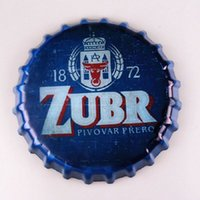 Zubr Beer Round Bottle Cap vintage Cartel de chapa Bar pub hogar Decoración de pared Metal art Poster