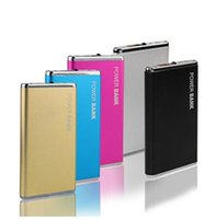 New- Ultra thin 5600mAH Power Bank Battery Safety USB Charger...