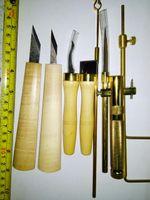 사운드 포스트 게이지, 리트리버 등 8 개의 PC Cello Luthier 도구