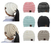 Sports Styles Brief Hats CC Pony Tails Beanie 6 Colors Sport...