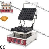 Ücretsiz Kargo Ticari Yapışmaz 110 v 220 v Elektrikli Kare Mini Pasta Pie Tartaletek Tartlet Kabukları Maker Demir Baker Makinesi
