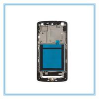 Nuovi pezzi di ricambio originali per LG Google Nexus 5 D820 Schermo LCD Supporto centrale cornice frontale con cornice Custodia per trasporto libero