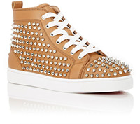 Luxury Spikes Sneaker Shoes Mens Womens Red Bottom Sneakers ...