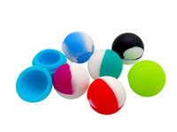 Образец- 1 шт. Красочный силиконовый контейнер для силикона для воска BHO нефтяной бутановой вауранской ваза кремниевые банки DAB WAX контейнер